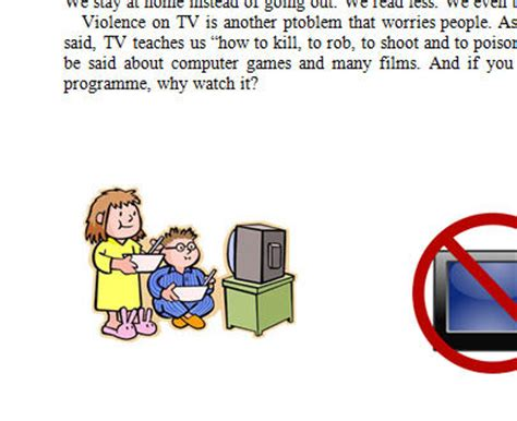Easy essay on disadvantages of television